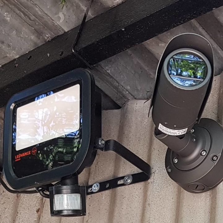 kültéri biztonsági kamera szerelés